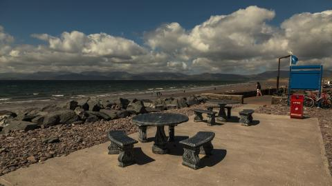 Rossbeigh seating area