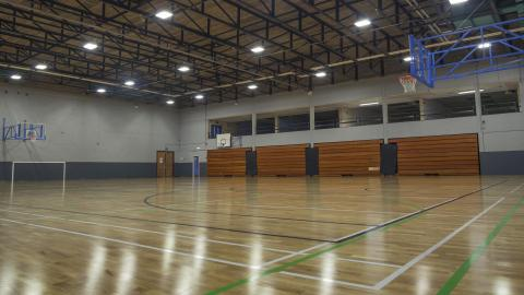 Tralee Sports Complex Basketball Court