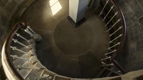 Tarbert Lighthouse staircase