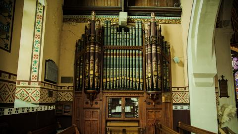 St. Mary's Church Organ