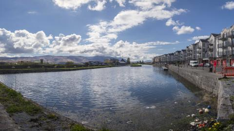 Tralee Marina Panoramic