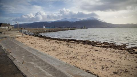 Fenit beach in winter