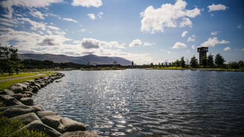 Tralee Wetlands Centre Lake