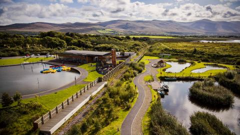 Tralee Wetlands Centre Drone Shot