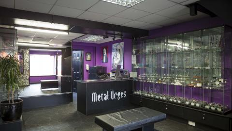 Metal Urges tattoo parlour