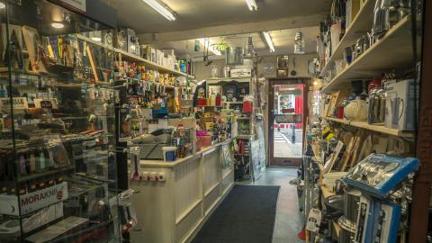 Benners Hardware interior