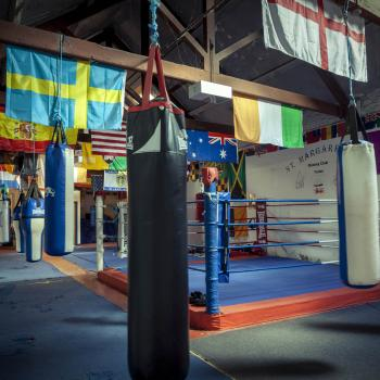 St. Margarets Boxing Club interior